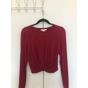 Tops - Front detailed shirt